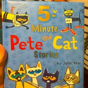 NWT 5 min Pete the cat bedtime stories